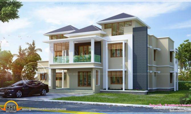 Awesome House Plan Home Kerala Plans