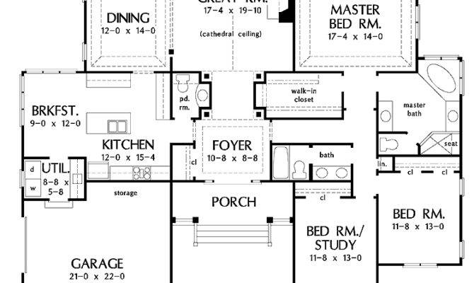 Awesome House Plans Master Bedrooms