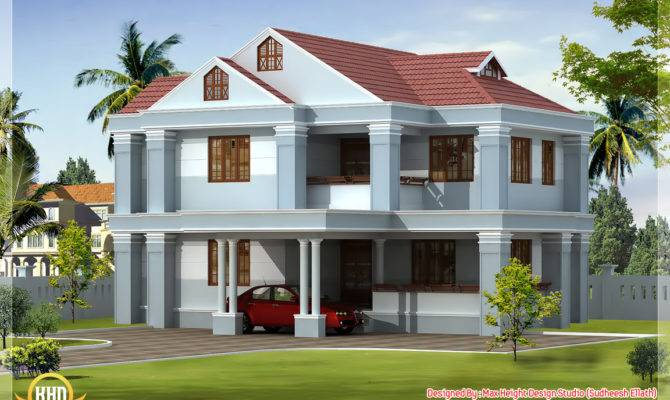Awesome Indian Home Elevations Kerala Design Floor Plans