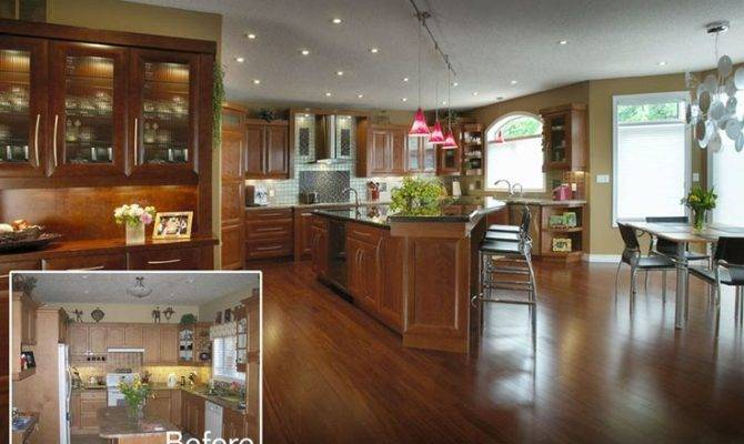 Awesome Large Kitchen Redesign