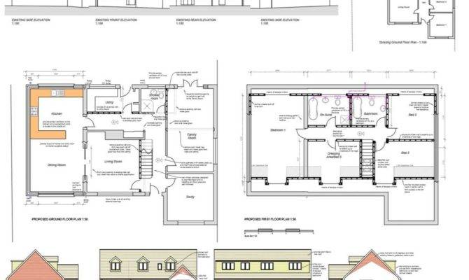 Awesome Loft Extension Floor Plans Selection Dream Home