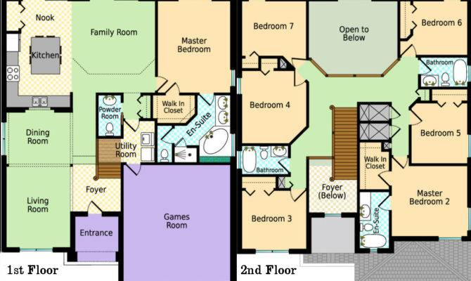 Awesome Luxury Villas Plans Home