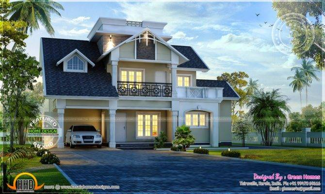 Awesome Modern House Exterior Kerala Home Design