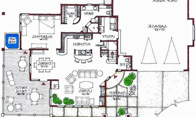 Awesome Modern House Plans Floor Smalltowndjs