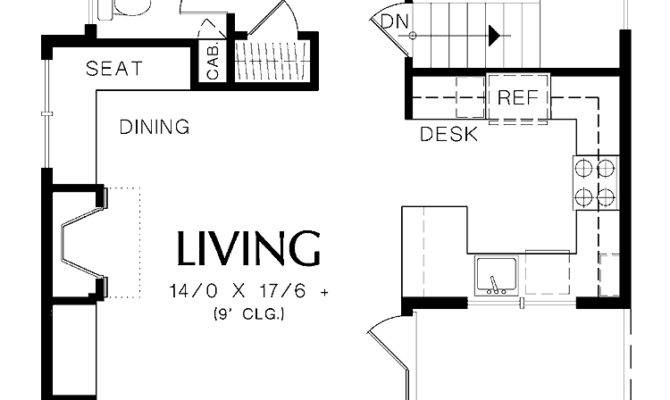 Awesome One Bedroom Home Plans House