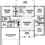 Awesome Open Layout Ranch House Plans New Home Design