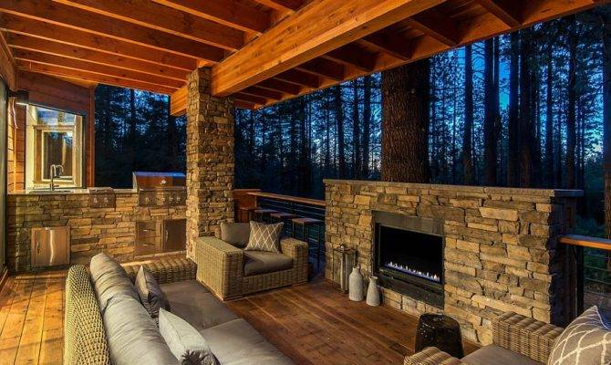 Awesome Rustic Decks Offer Tranquil Escape
