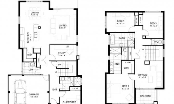 Awesome Sample Floor Plan Storey House Small