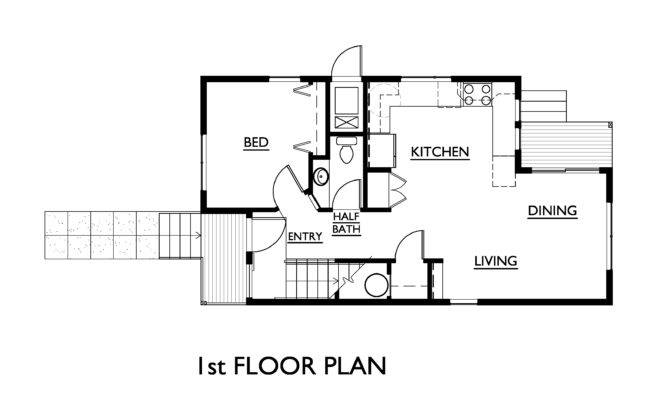 Awesome Simple House Floor Plans Measurements Home