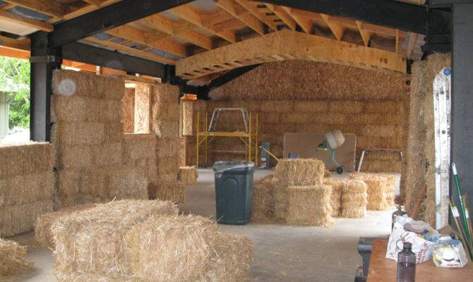 Awesome Simple Straw Bale House Architecture
