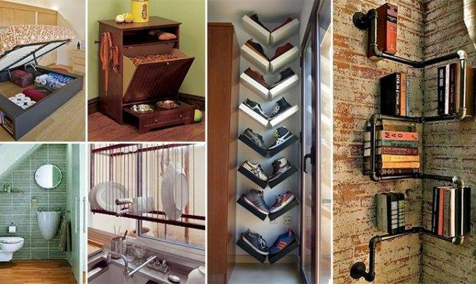 Awesome Space Saving Ideas Even Smallest Homes