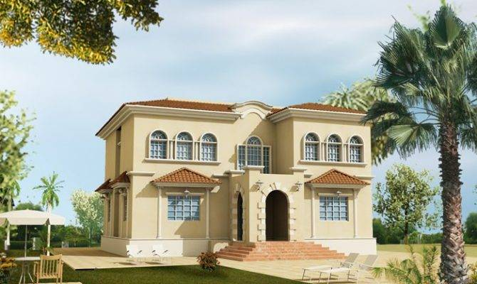 Awesome Spanish Villa Designs House Plans
