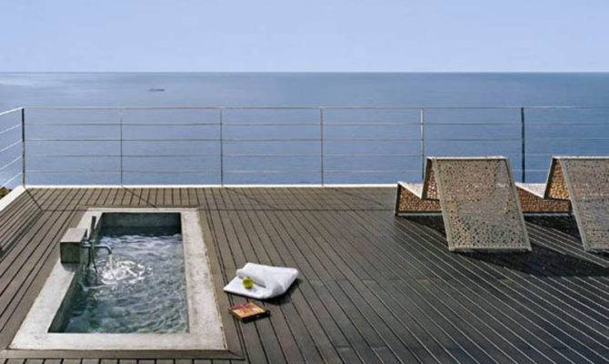 Awesome Terrace Pool Ideas