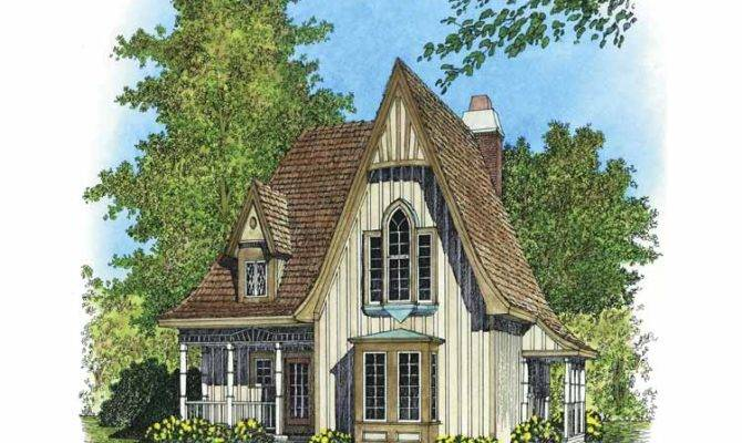 Awesome Victorian Gothic House Plans