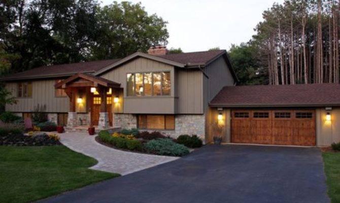 Back Front Split Level Addition Home Design Ideas