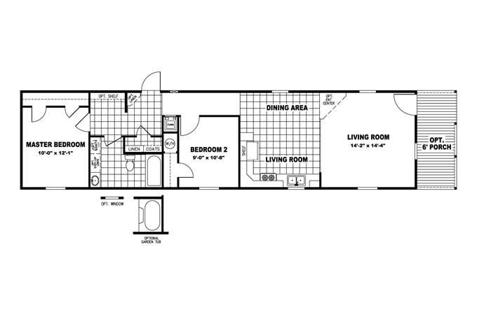 back modern shotgun house floor plan plans house plans