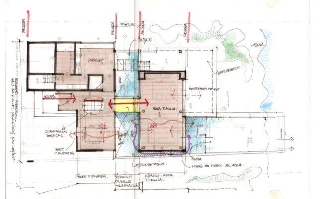 Back Pix House Plan Sketch