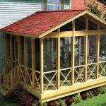 Back Porch Design Houses Designs