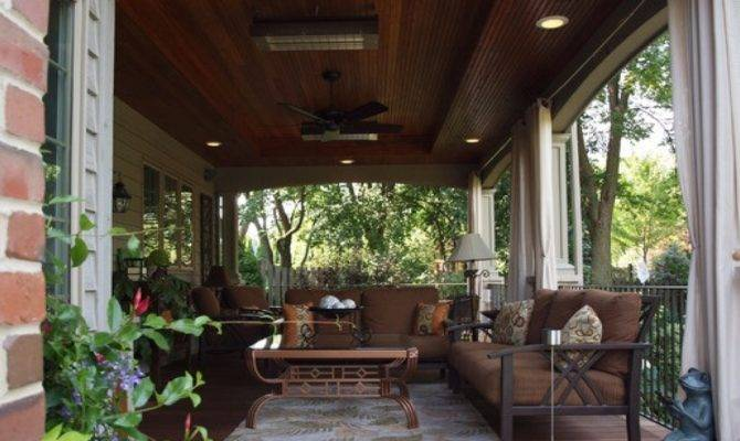 Back Porches Ideas Best Charming Hgtv Design