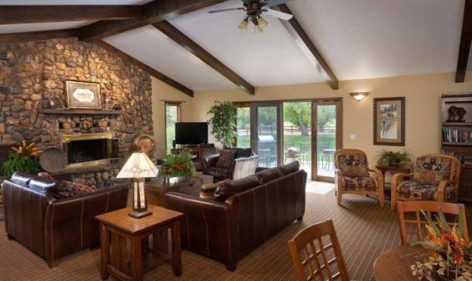 Back Ranch House Interior