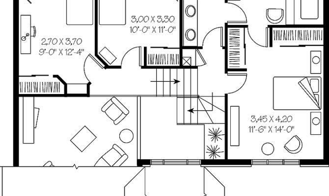 Back Split Level House Floor Plans