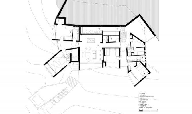 Back Underground House Floor Plans
