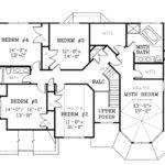 Back Victorian Style House Floor Plans