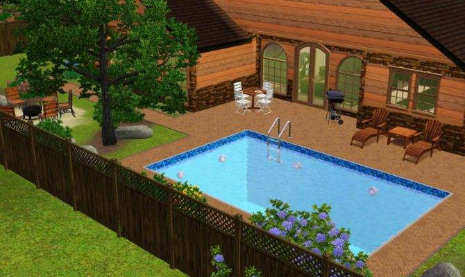 Backyard Jacuzzi Ideas Outdoor Furniture Design