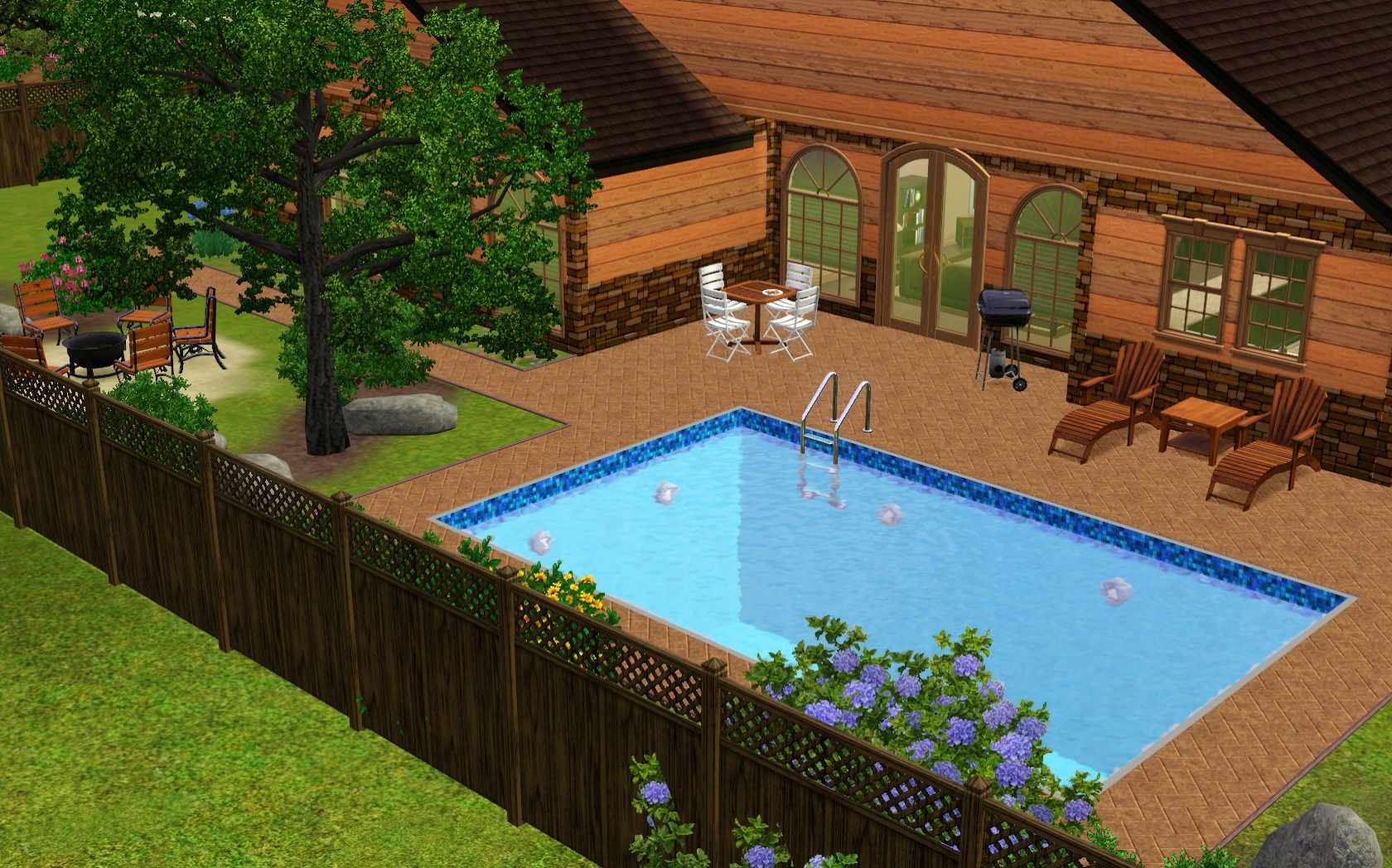 Backyard Jacuzzi Ideas Outdoor Furniture Design - House Plans