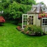 Backyard Landscaping Design Ideas Charming Cottages Sheds