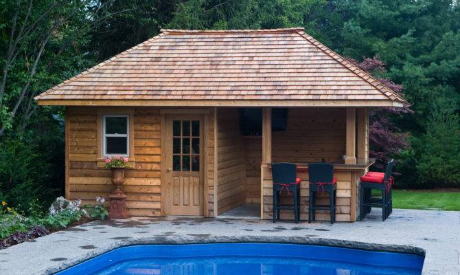 Backyard Pool House Marceladick