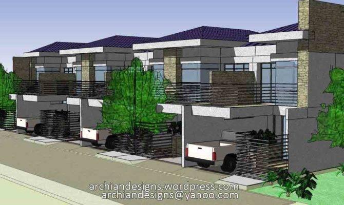 Bacolod House Design Unit Apartment Townhouses