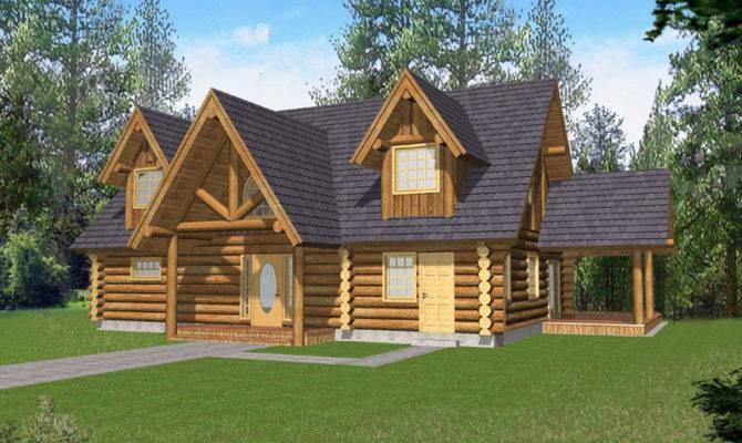 Badenhaus Log Cabin Style Home Plan House Plans More