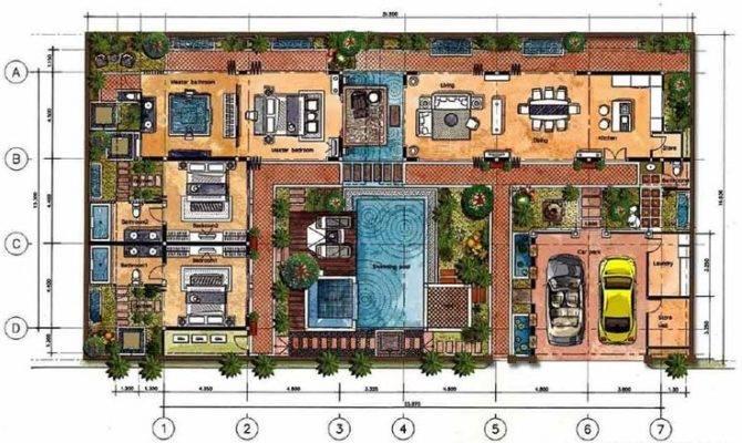 Bali House Designs Plans Design Planning Houses