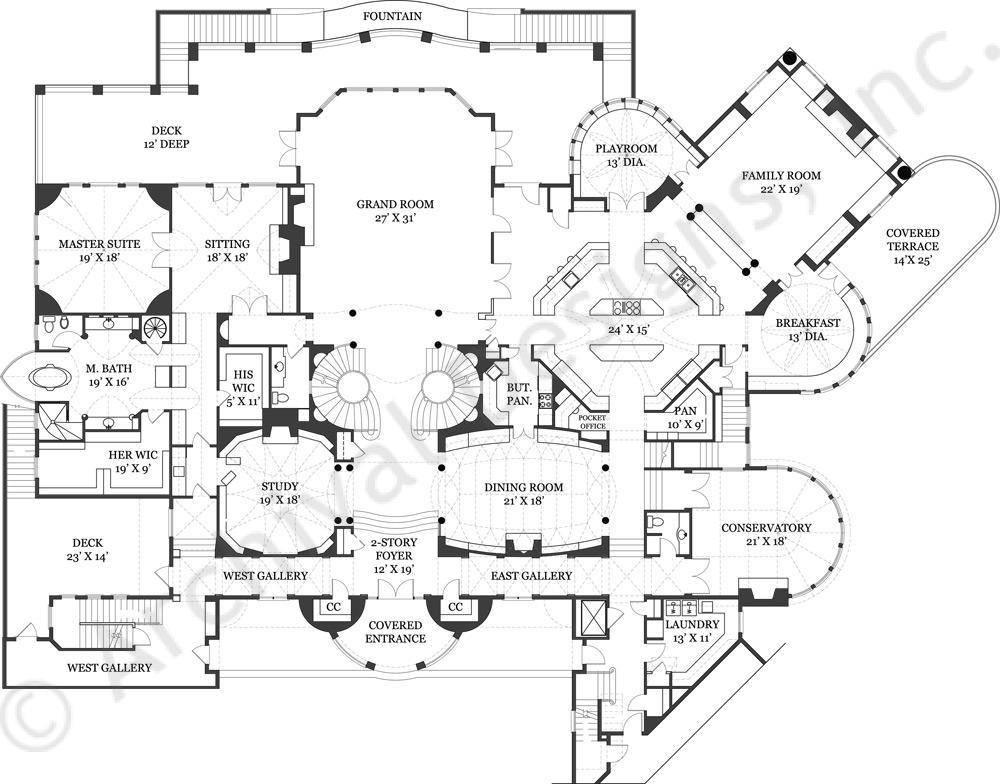 Balmoral Castle Floor Plan First Home Plans Blueprints House Plans 144203