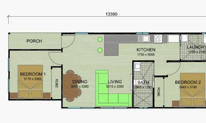 Banksia Granny Flat Floor Plans Bedroom