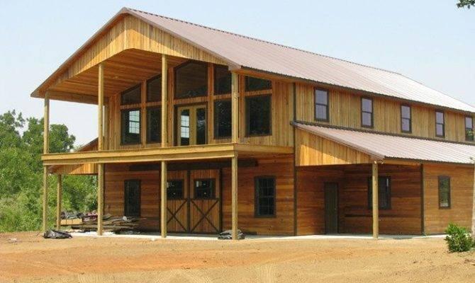 Barn House Plans Pole Home Pinterest