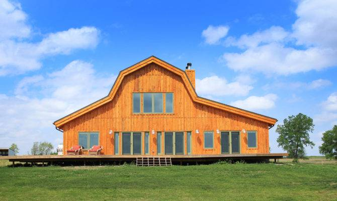 Barn Wood Home Great Plains Gambrel Project