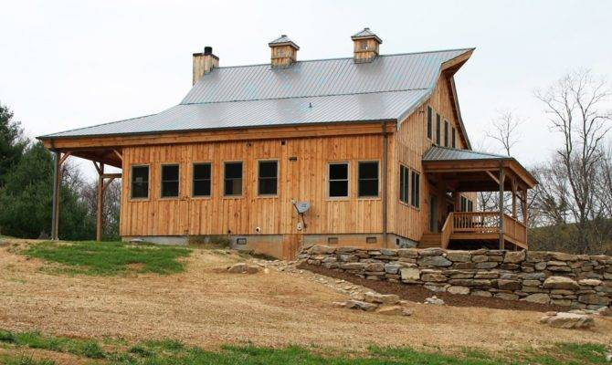 Barn Wood Home Ponderosa Country Project