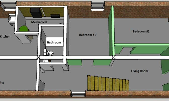Basement Apartment Plan