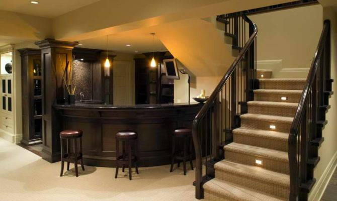 Basement Bar Designs Interior Decoration