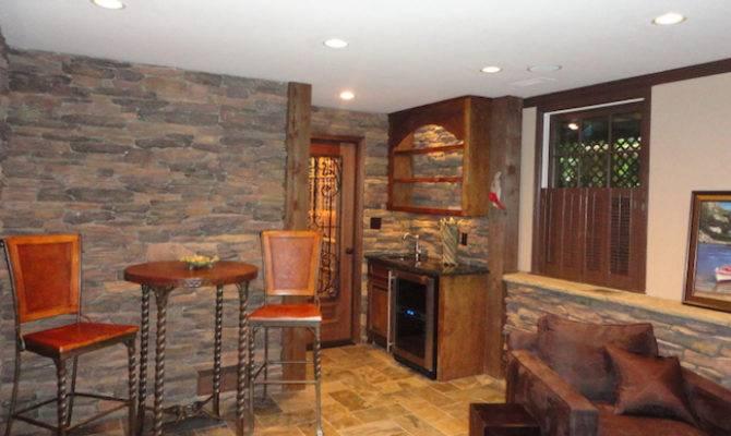 Basement Bar Wine Cellar Remodeling Dunwoody Atlanta