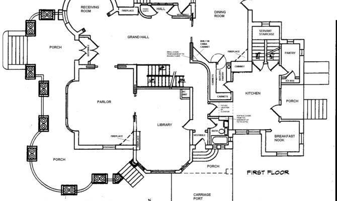 Basement Blueprint First Floor Second Third