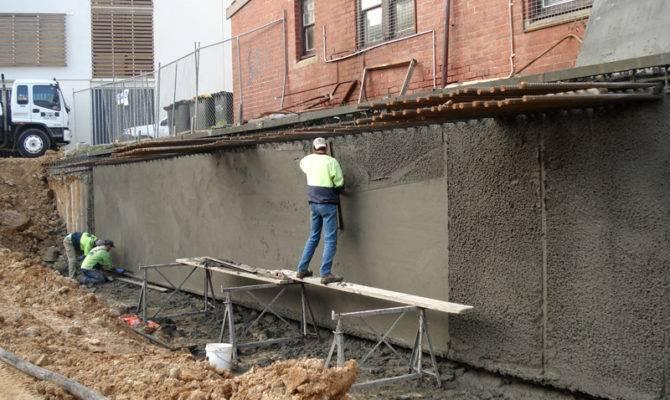 Basement Construction Floor House Plans 107806