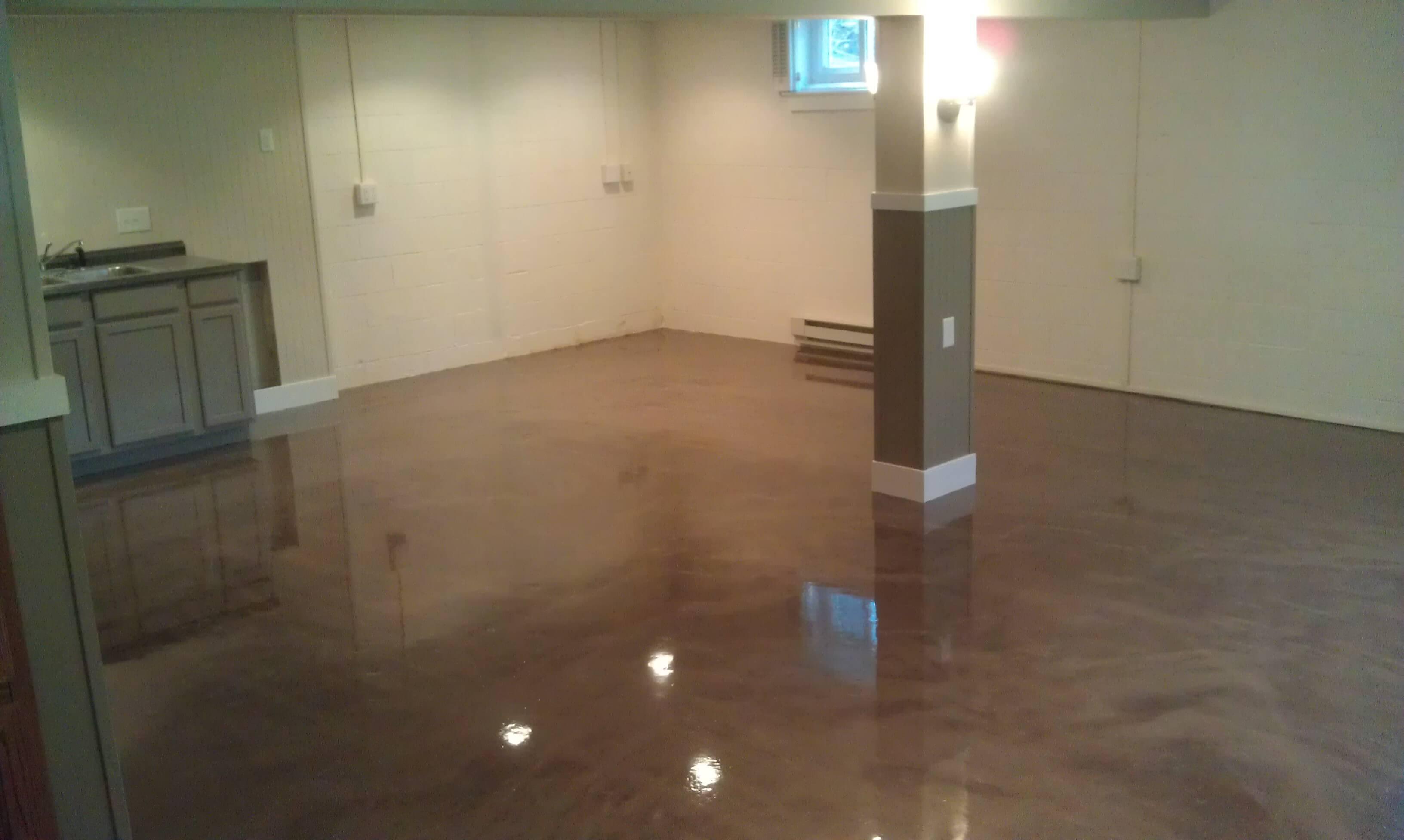 Basement Floor Paint House Plans 138227