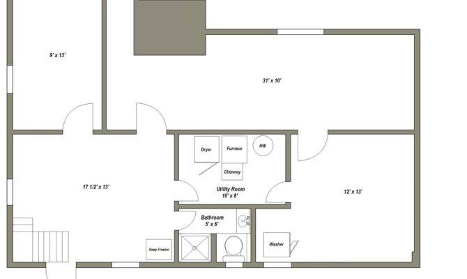 Basement Floor Plan After Proposed