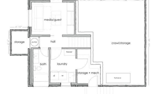 Basement Floor Plans Simple