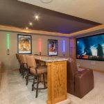 Basement Home Theater Star Wars Theme