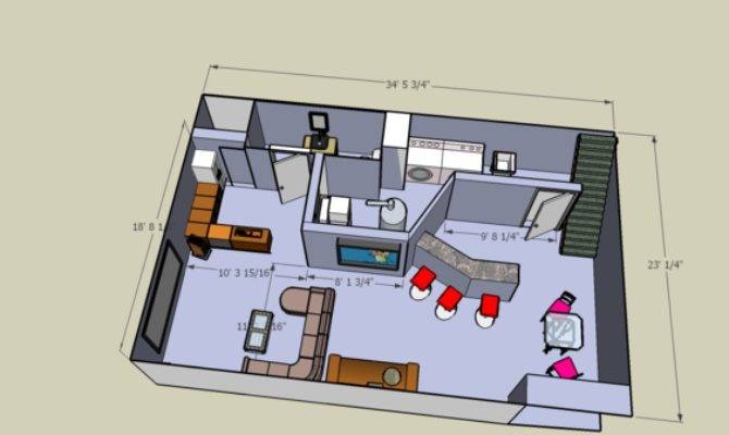 Basement Layout Decoration Inspiration Enhancedhomes