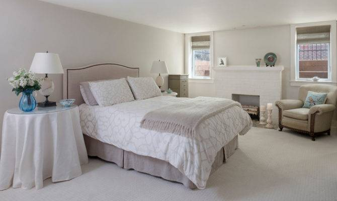 Basement Master Suite Traditional Bedroom Denver